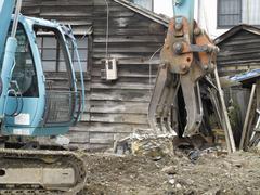 木造住宅解体工事について
